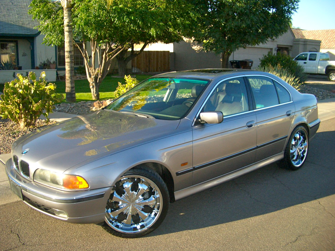 98 BMW 528i  Nice rims